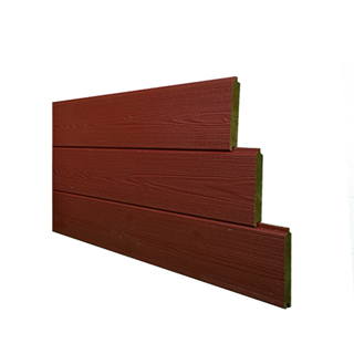 Thermowood Planchet Geborsteld Zweeds Rood